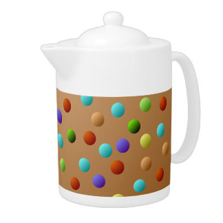 Colorful Multicolored Polka Dot Pattern