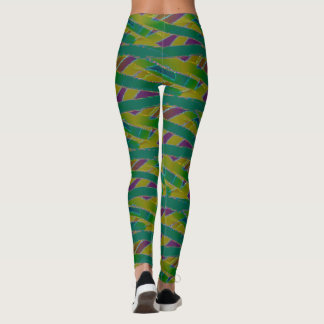 Colorful Mummy Wrap seamless design Leggings