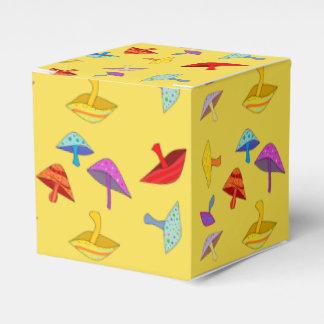 colorful mushrooms gift box