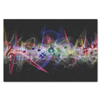 Colorful Music Note Musically Tissue Paper