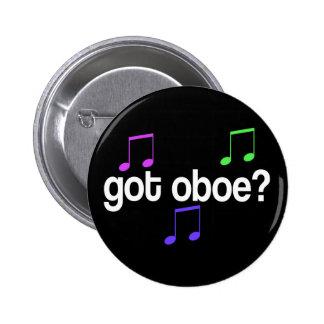 Colorful Music Oboe Button