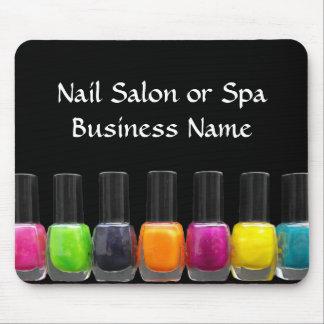 Colorful Nail Polish Bottles, Nail Salon Mouse Mat