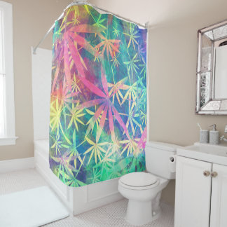 Colorful Nature 01 Shower Curtain