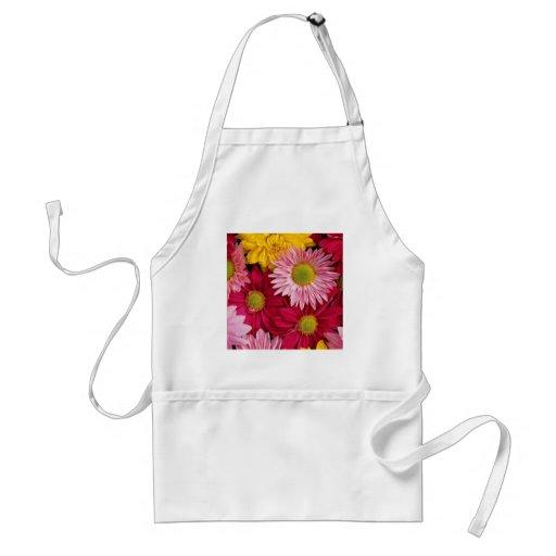 Colorful Nature Gerber Daisies Flower Petals Aprons