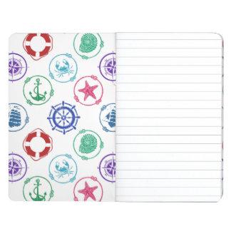 Colorful Nautical Pattern Journal