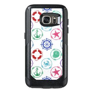 Colorful Nautical Pattern OtterBox Samsung Galaxy S7 Case