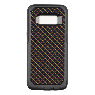Colorful nautical Rope Pattern OtterBox Commuter Samsung Galaxy S8 Case