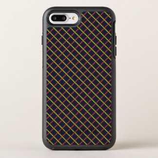 Colorful nautical Rope Pattern OtterBox Symmetry iPhone 8 Plus/7 Plus Case