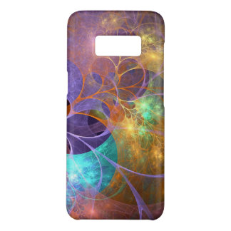 Colorful Neon Flowers Case-Mate Samsung Galaxy S8 Case