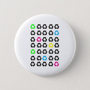 Recycling Badges & Pins | Zazzle UK