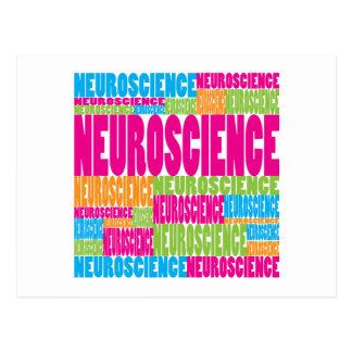 Colorful Neuroscience Postcard