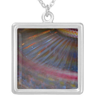 Colorful night fair ride action spinning shot custom jewelry