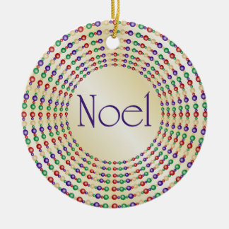 Colorful Noel Ornament