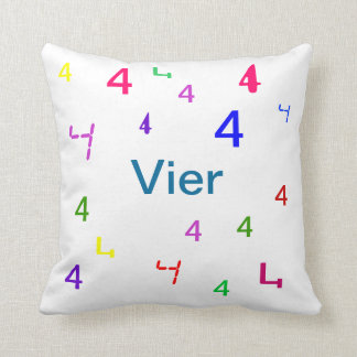 Colorful Numbers Pillows - CricketDiane