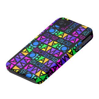 Colorful Obama 2012 iPhone 4 Case-Mate iPhone 4 Case-Mate Cases