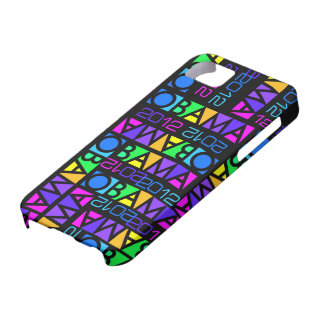 Colorful Obama 2012 iPhone 5 Case-Mate iPhone 5 Cases