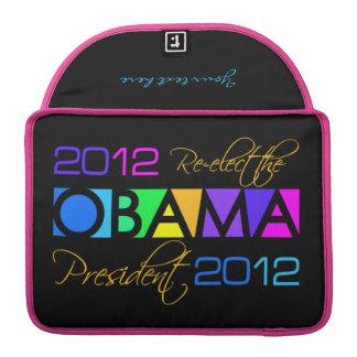 Colorful Obama 2012 MacBook sleeve MacBook Pro Sleeve