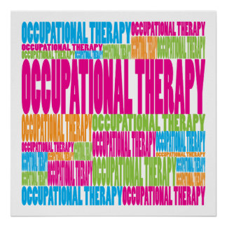 Colorful Occupational Therapy Poster
