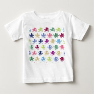 Colorful octopus pattern baby T-Shirt