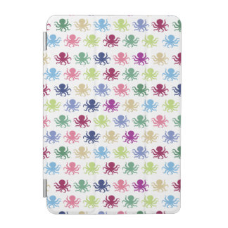 Colorful octopus pattern iPad mini cover