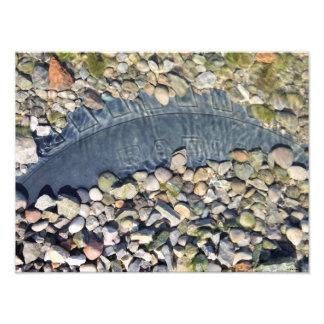 Colorful Ohio River Stones Photographic Print