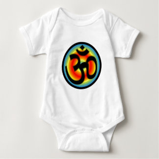 Colorful_Om Baby Bodysuit