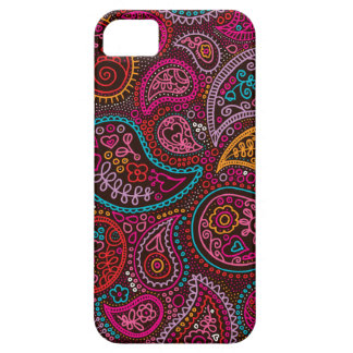 Colorful oriental india paisley iPhone 5 covers