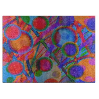 Colorful Original Glass Cutting Board