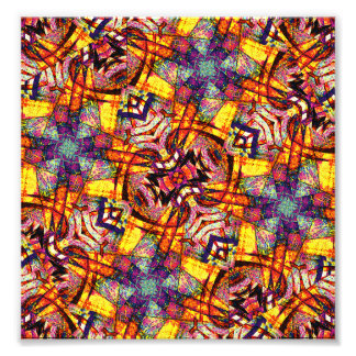 Colorful Ornament Pattern Photo