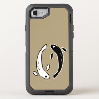 Colorful Ornamental Koi Fish Swimming OtterBox Defender iPhone 7 Case