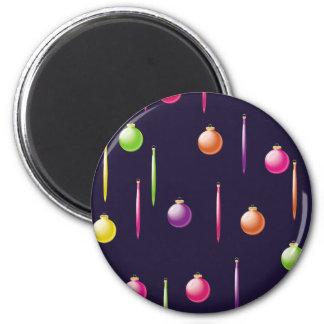 Colorful Ornaments Fridge Magnets