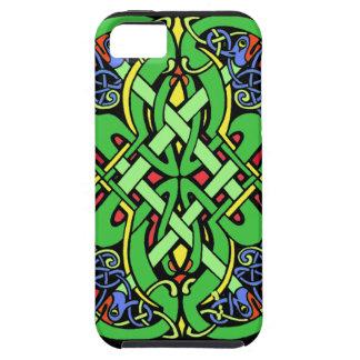 Colorful Ornate Irish Celtic Knot Tough iPhone 5 Case