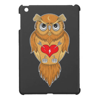 Colorful Owl Illustrations iPad Mini Case