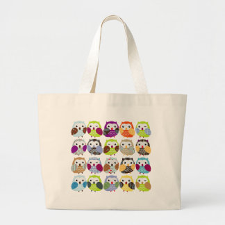 Colorful Owl Pattern Bags