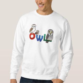 Colorful Owl Sweatshirt