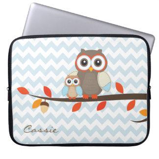 Colorful Owls Laptop Case Laptop Computer Sleeve