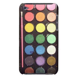 Colorful Paint Box Rainbow iPod Case-Mate Case