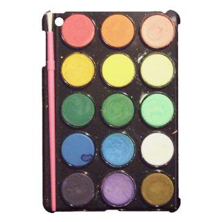 Colorful Paint Box Rainbow iPad Mini Cases