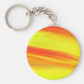 COLORFUL PAINT RAINBOW 3 BASIC ROUND BUTTON KEY RING