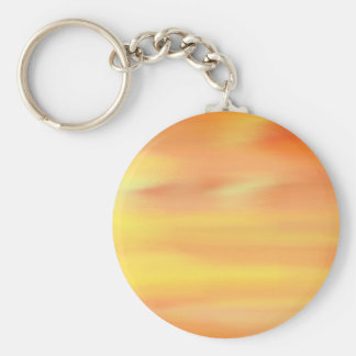 COLORFUL PAINT RAINBOW ART 2 BASIC ROUND BUTTON KEY RING