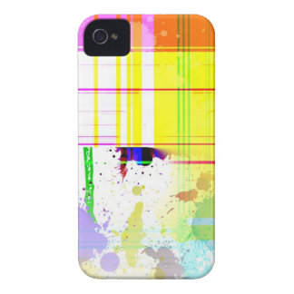 Colorful paint splashes Blackberry Case