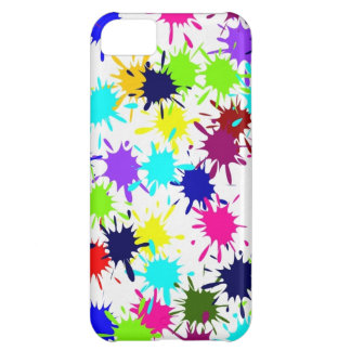 Colorful Paint Splashes iPhone 5 Case