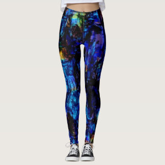 Colorful Paint Splatter #13 Leggings