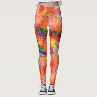 Colorful Paint Splatter #14 Leggings