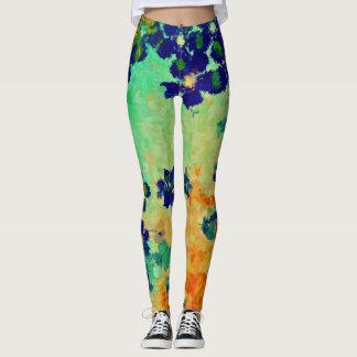 Colorful Paint Splatter #17 Leggings