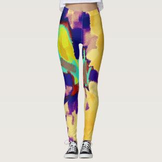 Colorful Paint Splatter #22 Leggings