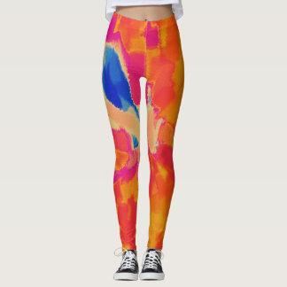 Colorful Paint Splatter #28 Leggings