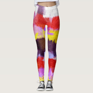 Colorful Paint Splatter #39 Leggings