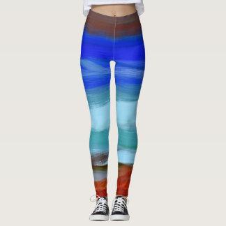 Colorful Paint Splatter #40 Leggings
