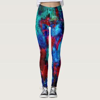 Colorful Paint Splatter #4 Leggings